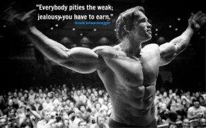 everybody pities the weak jealousy must be earned